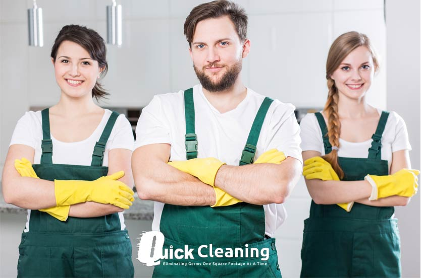 quick cleaning services london