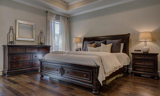 end of tenancy cleaning bedroom
