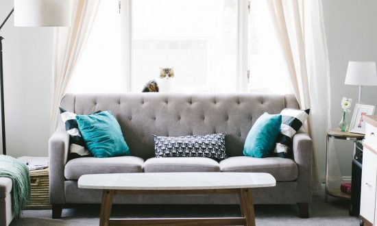 end of tenancy cleaning for living room