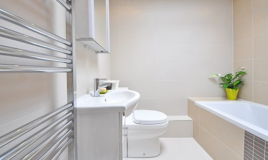end tenancy cleaning bathrooms