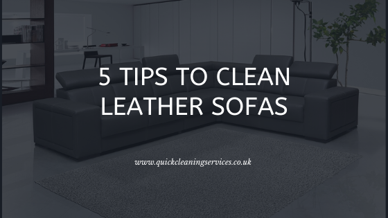 5 Tips to Clean Leather Sofas