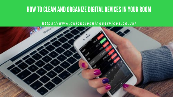 how to organize your digital devices