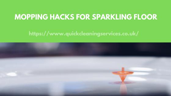 Mopping Hacks for flooring