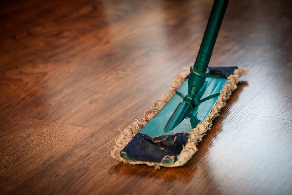 Mopping Hacks for sparkling floor
