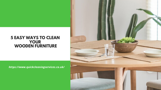 easy ways to maintain the furniture