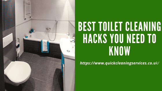 Toilet cleaning hacks