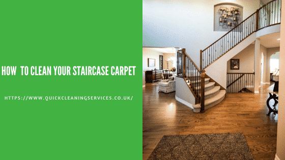 clean stair case