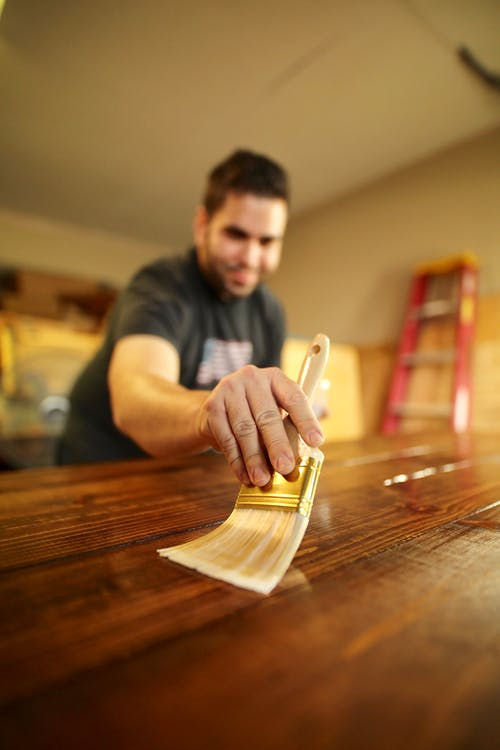 clean all wooden furniture