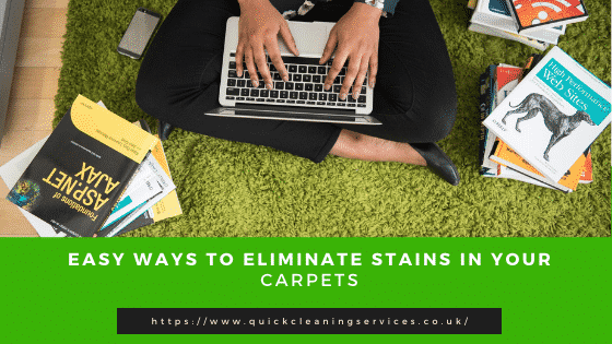 Remove you carpet stains in a easy tips