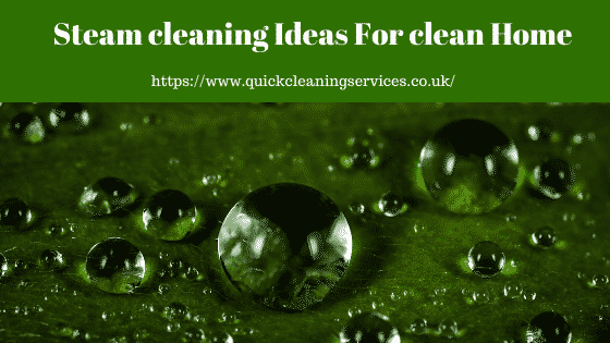 steam cleaning Ideas for Your home