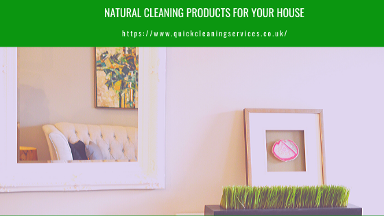 Natural cleaning products For your House