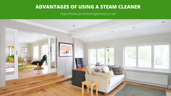 Advantages of using a steam cleaner