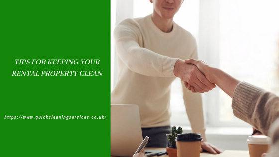 Tips for keeping your rental property clean