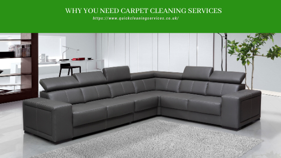 Need of carpet cleaning services