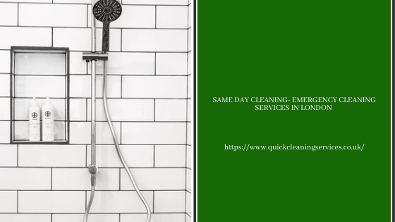 _Same Day cleaning- Emergency cleaning services in London