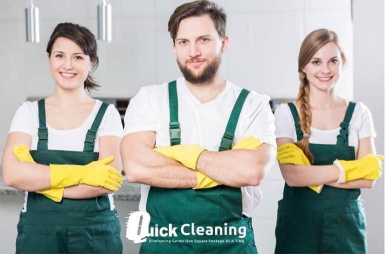 quick cleaning services in North London