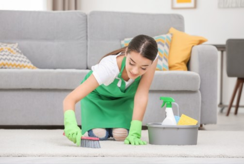 Carpet cleaning services in Brompton, SW3